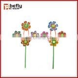 Hot selling kids mini plastic windmill