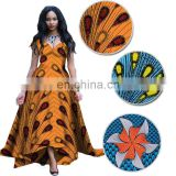 high quality real wax hollandais with stone fabric African block printed stone ankara wax H503061