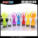Fashion design novelty water cooler water mist spray fan