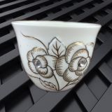 Factory price ceramic small size arabic coffee cawa cup
