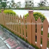 decorative garden outdoor WPC fence