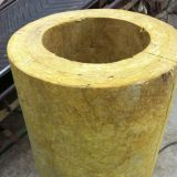 Simple and fast installation Heat Insulation Rock Wool Pipe