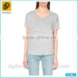 Hot Sale Fashion High Quality Lady Fitted Cotton Simple T shirt 2016
