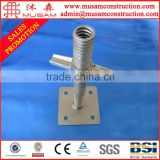 Sales Promotion !!! Adjustable scaffolding steel jack base for formwork support