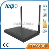 Telpo TPX820 4G Wireless Wifi Router Support USB Wireless Dongle 24 port poe switch