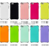2015 China Factory Newest Colorful Tough Slim Armor Case Shockproof for IPhone6 PLUS 5.5 case Cover back case