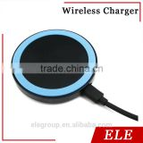 Factory direct wireless charger receiver,qi wireless charger for iPhone 5 5C 5S Samsung smartphone