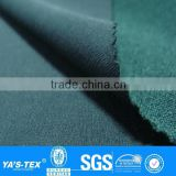 Green Twill 4 Way Stretch Nylon Polyester Spandex Lycra Waterproof Fabric Wholesale For Mountaineering