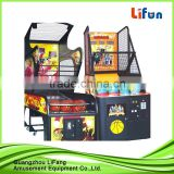 kids basketball arcade machine/mini kids play basketball game machine