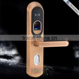 2015 Zinc Alloy smart keyless touch screen intelligent smart home remote control electric door lock