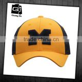Hot selling curved bill wholesale 3d embroidery logo 6 panel dsign trucker caps