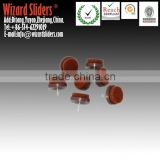 0.9mm Thick Brown Felt Pads for Chair Legs with Nail