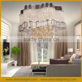 Customized energy saving living room crystal ceiling chandelier light &led crystal lamps modern design