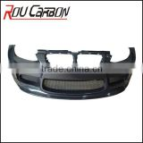 Carbon Fiber car parts HM Front Bumper for E92 M3 rear bumper