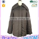 Hot sales lady clothing winter fashion coat down jacket custom lady jacket factory down jacket