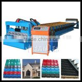 roofing tiles forming machine with ce ,customize metal water ripple roof tile forming machine for sale
