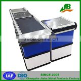 Checkout Counter for supermarket , Cash Register,Cashier Counter checkout counter With Conveyor Belt