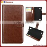 flip leather cell phone cover case for lenovo p780