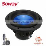 SW10-11 10inch 1000W Aluminum cone subwoofer, high quality car woofer
