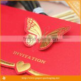 2015 Hot Sale wedding favor card printing