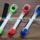 New design plastic promotion led reflective belt