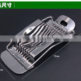 Egg slicer, stainless steel cuts the egg, the creativity is divided the egg, kitchen tool