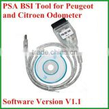 High Performance PSA KM TOOL V1.1 version read and write eeprom of BSI + programming new KM in BSI