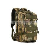 ODM Waterproof Military 3P Tactical Travel Camo Hunting Backpack