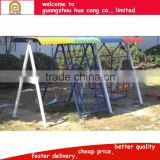 Hanging Baby Swing , metal outdoor playground swing with slides sets for Kids