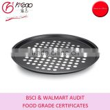 "eco-friendly nonstick oven safe 13"" pizza pan round"
