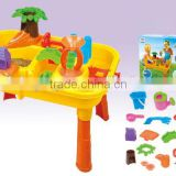 Kids Summer toys Activity Sand Water Tool Sets Play Table