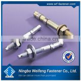 Ningbo hardware fastener supply ss wedge anchors zinc plated China manufacturers&importers