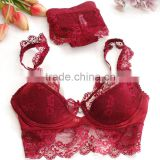 Z91251A Ladies underwear images beautiful design girl tube sexy fancy lace bra panty set