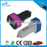 mobile accessories usb car charger 5.2A features three USB ports to safely charge your favorite devices