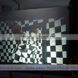 Good quality of self adhesive holographic rear projection film for display,No reflection of the screen