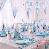 Bithday Party Kids Sets For Birthday Party Decorations Supplies Blue and Pink