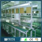 High Quality Bidirectional Belt Assembly Line Industrial Machinery ESD Double Belt Conveyor