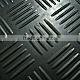 6mm Checker pattern rubber floor mat/Quality rubber flooring/High quality non-slip rubber flooring