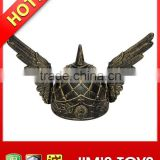 Blushed Gold Plastic Viking Hat with Angel Wings Parties & Carnivals & Christmas Plays