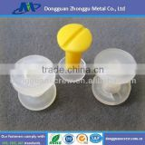 High quality white plastic nylon male female rivet