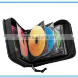DVD case holder 2015 simple fashion black car DVD player bag, promotion cd case