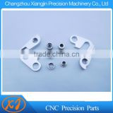 CNC Machining Alloy bicycle derailleur hanger tail hook lug