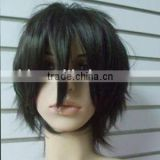 Cosplay Short Men Cosplay Wig, Synthetic Hair Wig