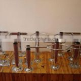 Chromed bar chair parts