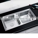 Franke Kitchen Sin China Latest Stainless Steel Kitchen Sink Drain Or Double Stainless Steel Sink Bowl With Water Board Product