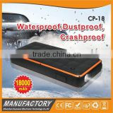 Wholesale ip65 waterproof snap on jump starter car 18000mah