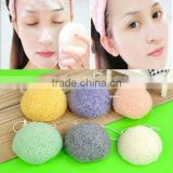 Natural Konjac Konnyaku Facial Soft Puff Face Washing Cleansing Beauty Sponge