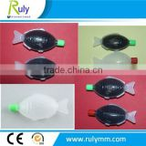 little size fish shape plastic soy sauce bottles