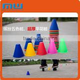 2015 skate board plastic cone accessories, competition taper marker part, roller skating game