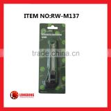 Factory Supply Best Selling 18mm Utility Knife/Cutter/Single Blade /Plastic Hand Tool rw-m137